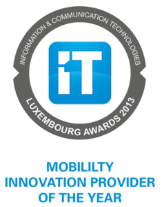 Luxembourg awards 2013 - Mobility innovation provider of the year