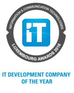 Luxembourg awards 2016 - IT Development Company of the year